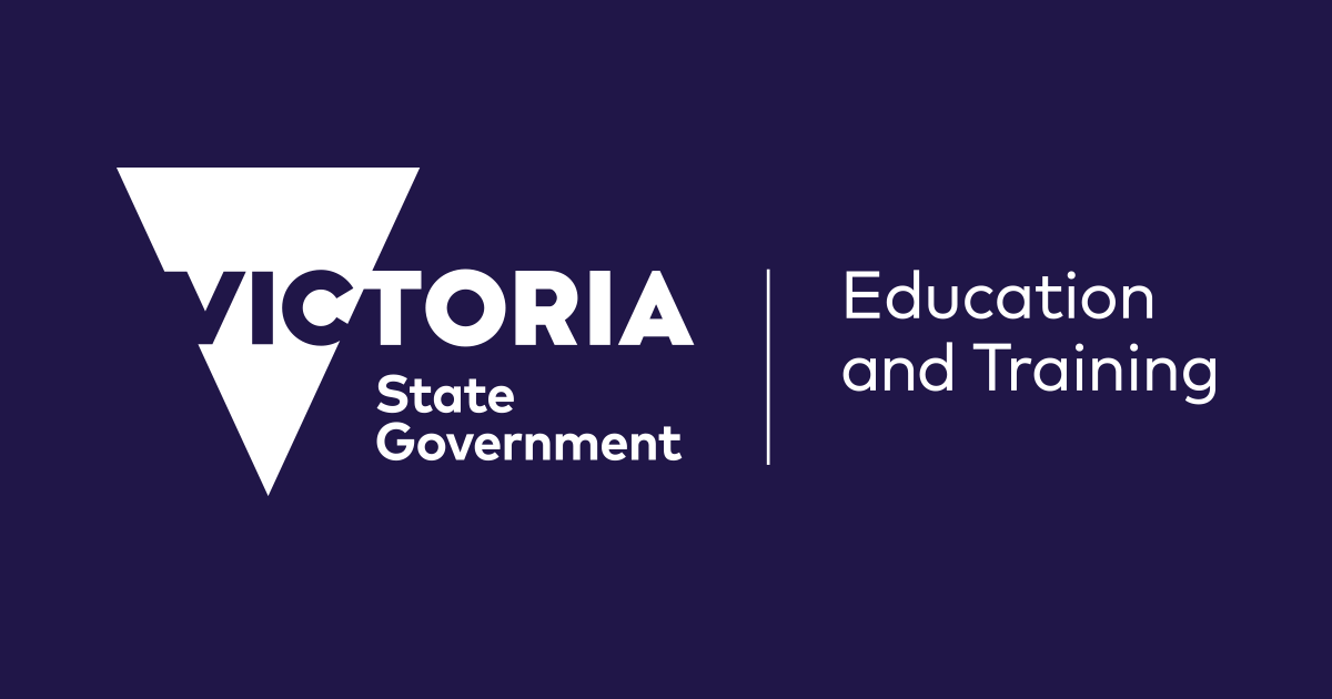 Victoria State Government Educations & Training Logo